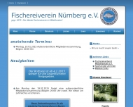 Bild Webseite Fischereiverein Nürnberg Nürnberg