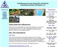 Bild Familiensportverein Bund für natürliche Lebensgestaltung e.V.