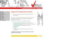Deutsch lernen beim VBA e.V. N?rnberg Startseite