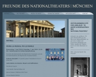 Bild Webseite Freunde des Nationaltheaters München