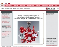 Website Richter Chemie-Technik