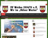 Bild Sportverein Weiden Fußball