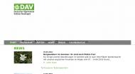 Website Alpenverein