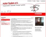 Website Roter Faden