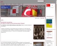 Bild Stiftung Zentrum für Türkeistudien Wissenschaftliches Forschungsinstitut
