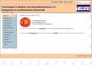 Bild TIMUG e.V. - Technologie in Medizin und Gesundheitswesen Wiss. Vereinigung