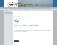 Website Yacht-Club Mainz