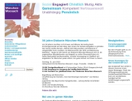 Bild Webseite Diakonie München-Moosach Verein für soziale Aufgaben München