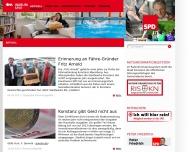 Bild Webseite SPD Ortsverein Konstanz Konstanz