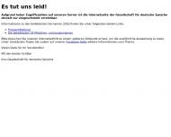 Bild Gesellschaft für deutsche Sprache e.V. Sprachinstitut