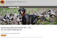 Bild Webseite Dobermann-Verein München