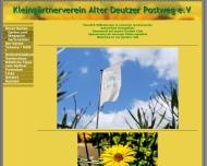 Bild Webseite Kleingärtnerverein Alter Deutzer Postweg Köln