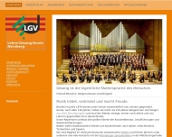 Bild Webseite Lehrergesangverein Nürnberg Nürnberg