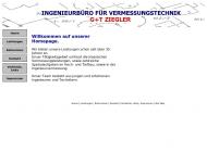 Bild Webseite Ziegler Georg Ingenieurbüro für Vermessungstechnik München