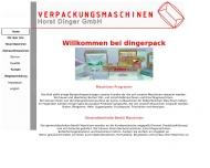 Bild Verpackungsmaschinen Horst Dinger GmbH