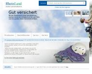 Bild Webseite Rheinland Versicherungs Köln