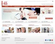Bild Webseite Generali Lloyd Versicherung Berlin