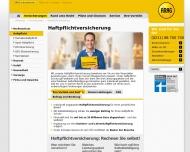 Website ARAG Generalagentur Günter Pleus