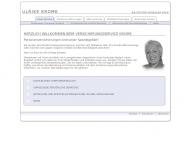 Bild Webseite Krome München