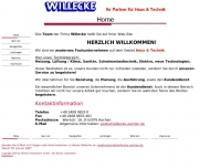 Website Willecke Haustechnik