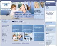 Website Breyer Peter Versicherungsfachmann BWV