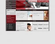 Bild Webseite Partmann & Partner Hamburg
