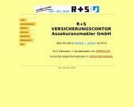 Bild Webseite R + S Wertpapierhandel Gesellschaft München