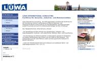 Bild Webseite Lüwa Freiburg im Breisgau