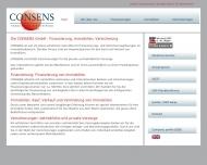 Bild Webseite Consens München