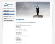 Website Delta Direkt Lebensversicherung