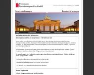 Bild Webseite Heinemann Versicherungsmakler Berlin