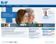 Bild Webseite Roder Fred Versicherungsbüro Köln