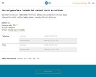 Bild Webseite Provinzial Versicherung Pfeiffer Gerhard Köln