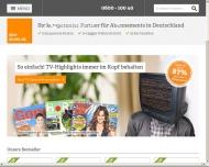 Bild Webseite ASSE FINA Gesellschaft für Versicherung  und Finanzierungsvermittlung Hamburg