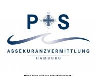 Bild Webseite P + S Assekuranzvermittlung Hamburg