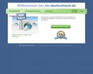 Bild Webseite CIC (Deutschland) Versicherung Aktiengesellschaft Hamburg