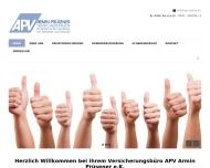 Bild Webseite APV Armin Prüsener Dortmund