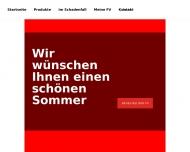 Bild Webseite Fahrlehrerversicherung VAG Direktionbeauftragter Berlin