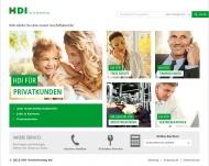Bild Webseite ASPECTA Lebensversicherung Berlin