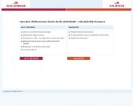 Bild Webseite Hallesche Nationale Krankenversicherung aG München