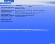 Bild Webseite Düsing Ronald Versich.Agentur Berlin