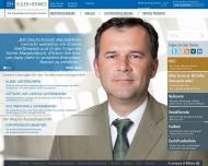 Bild Webseite Hermes Kreditversicherungs München
