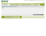 Bild Webseite AllianzL/DKV-Dt.-Krankenvers. (Eigentümergemeinschaft) Berlin