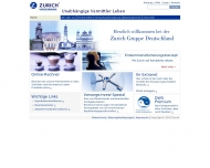Website Deutscher Herold Lebensversicherungs