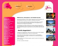 Bild Webseite Berlin Unlimited Städtereisen International Berlin