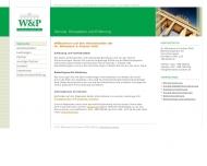 Bild Webseite Wihnaleck Dr. und Partner Berlin