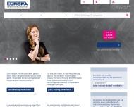 Bild Webseite EUROPA-Versicherungen Hamburg
