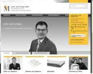Bild Webseite Joite Oliver Versicherungskaufmann Berlin
