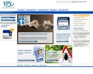 Bild Webseite VPV Versicherungsgruppe Berlin