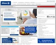 Bild Webseite Allianz Generalvertretung Manfred Vogel Baufinanzierung und Versicherungen Berlin